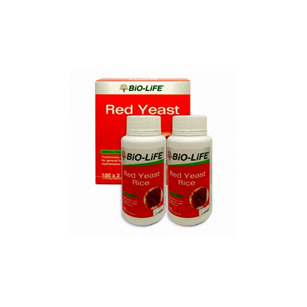 Biolife RED YEAST RICE 2X100'S