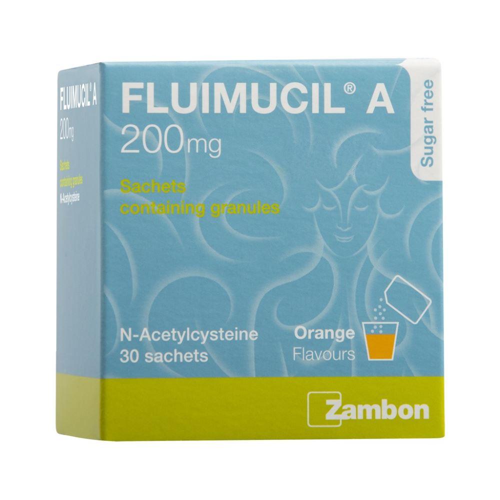 Fluimucil A 200mg