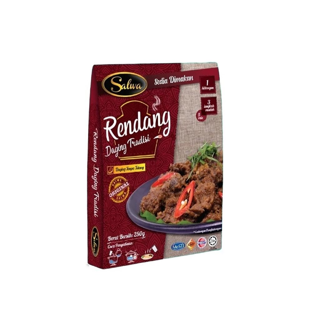 Traditional Meat Rendang