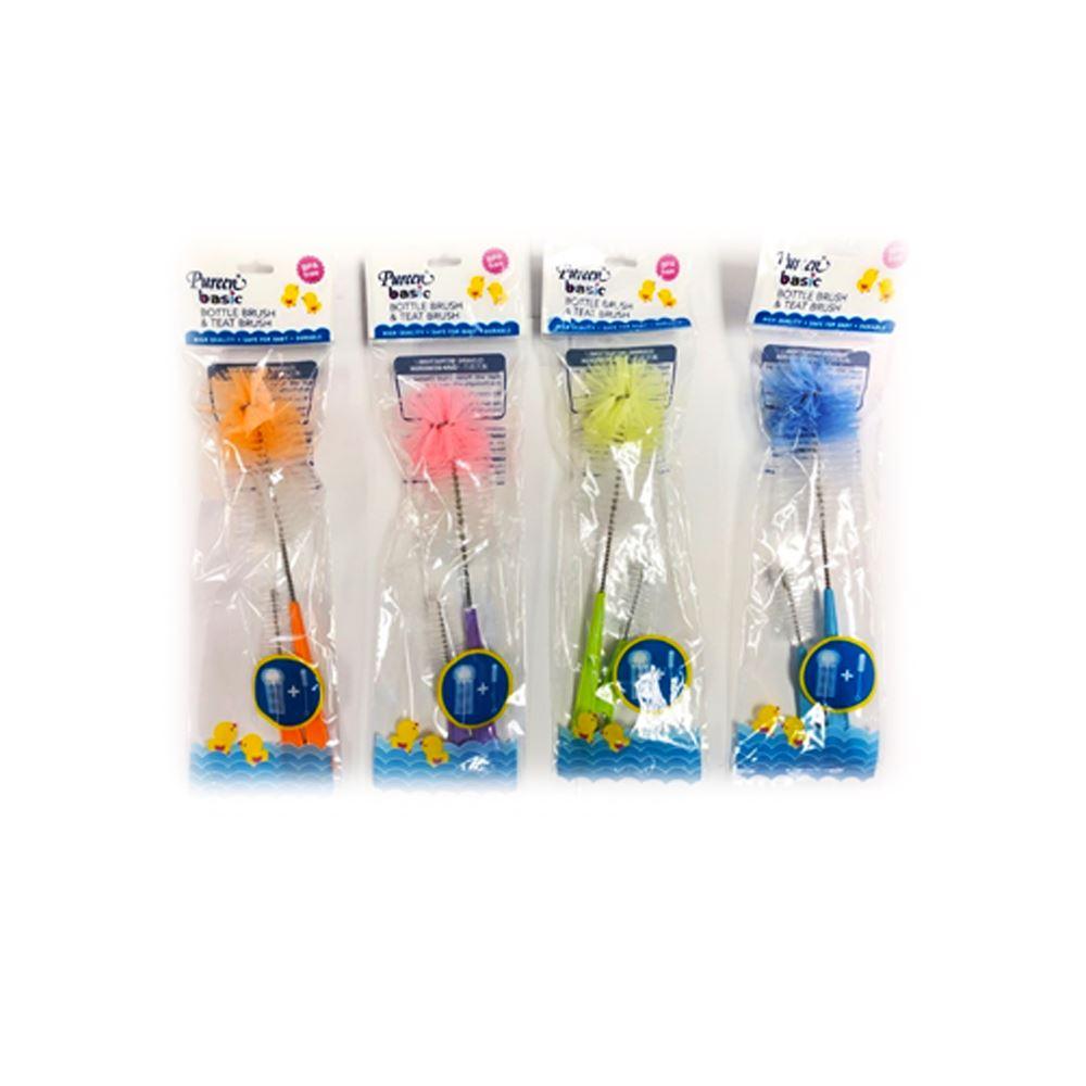 Pureen Basic bottle brush and teat brush
