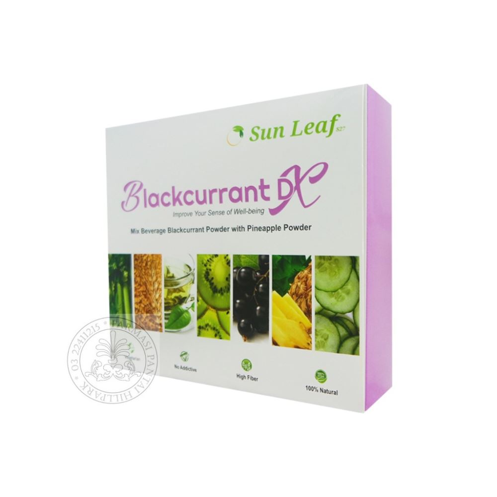 Sun Leaf Blackcurrant DX 15 Sechets