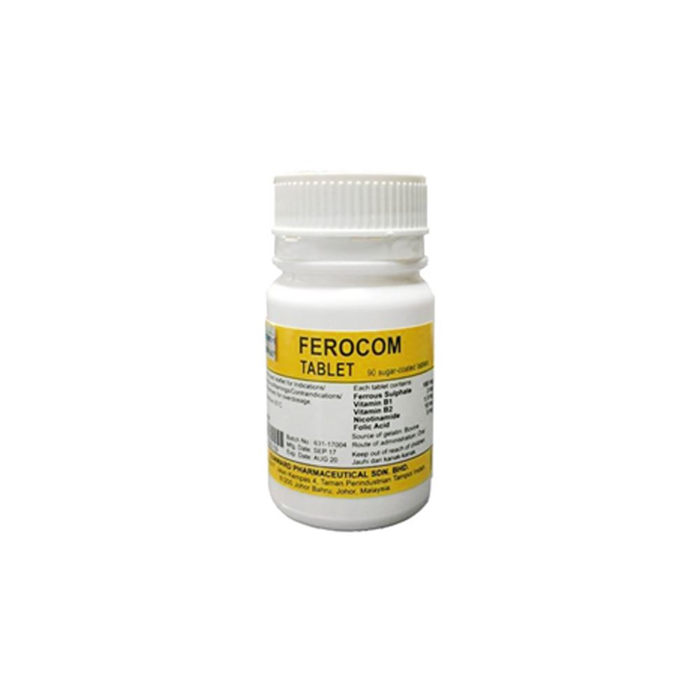 Ferocom Tablets 90's
