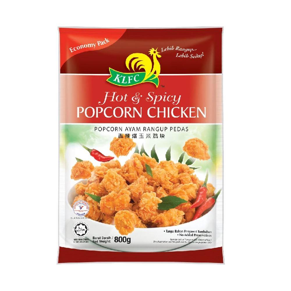 Hot & Spicy Popcorn Chicken