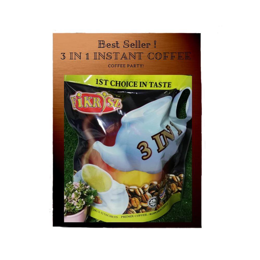Premix Coffee 3 in 1