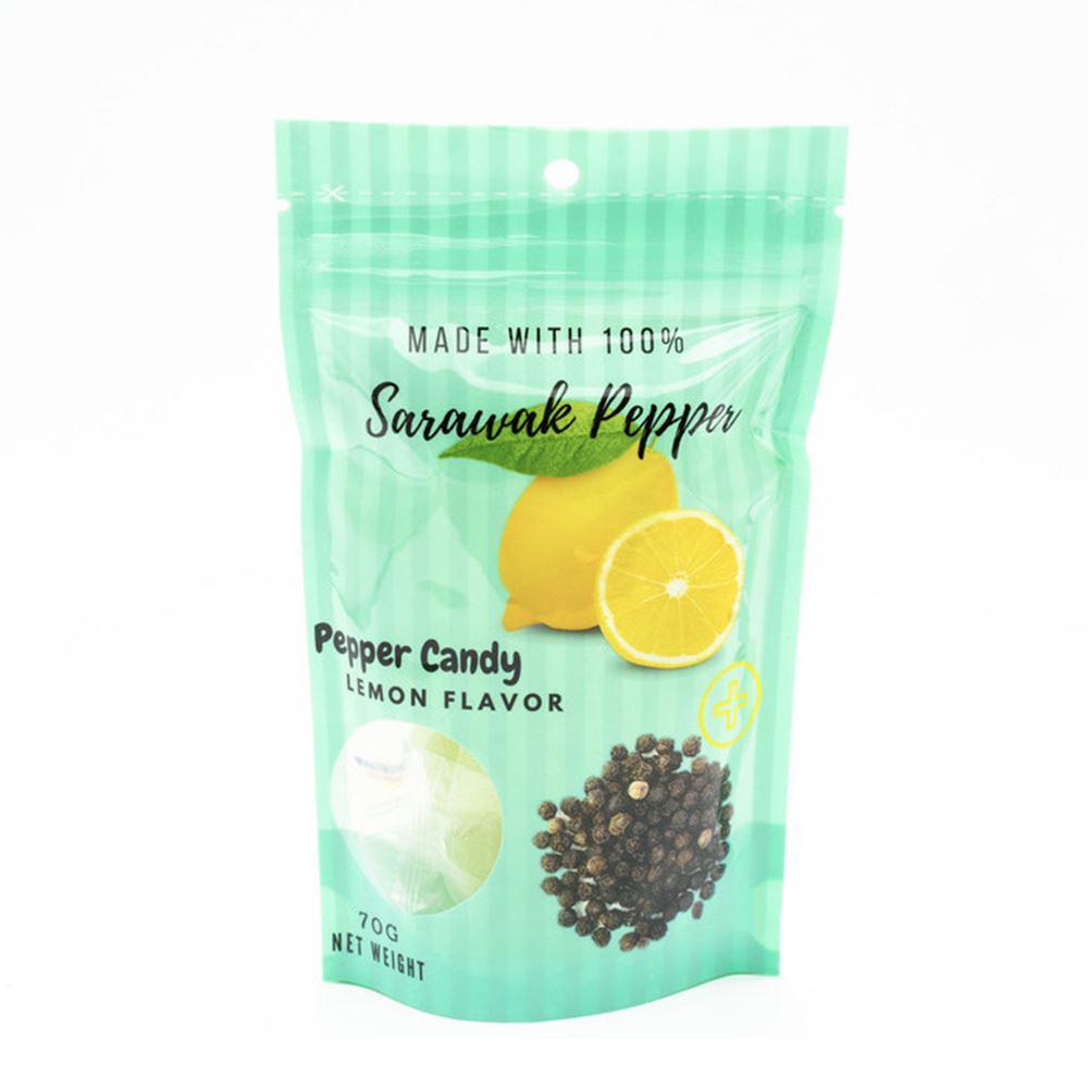 Sarawak Pepper Candy Lemon Flavor Hard 70G Bag