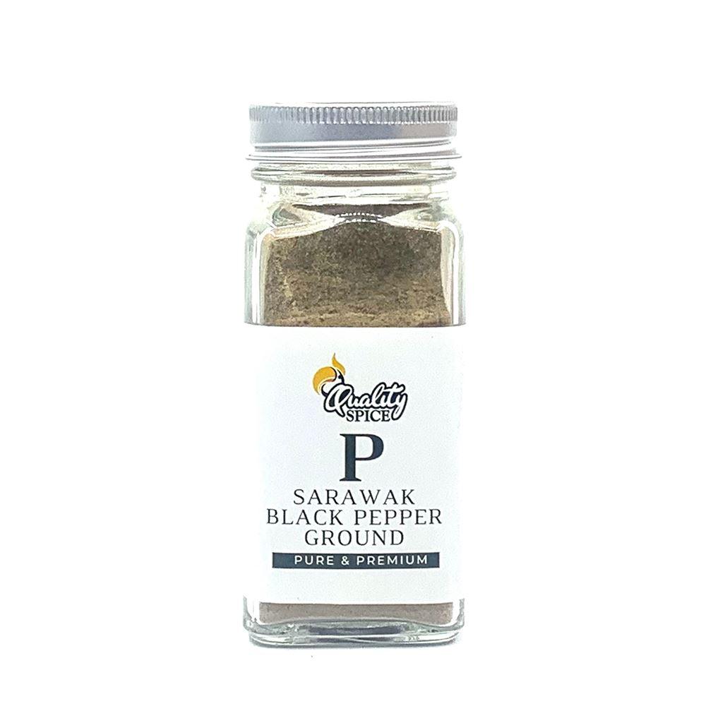 Sarawak Black Pepper Ground 50G Shacker Premium | Halal Black Pepper Supplier