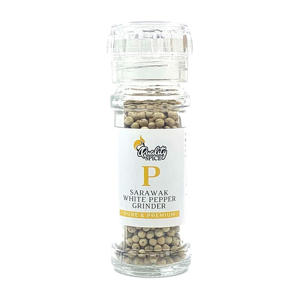 Sarawak White Pepper Grinder 50G Premium | Sarawak Pepper Supplier