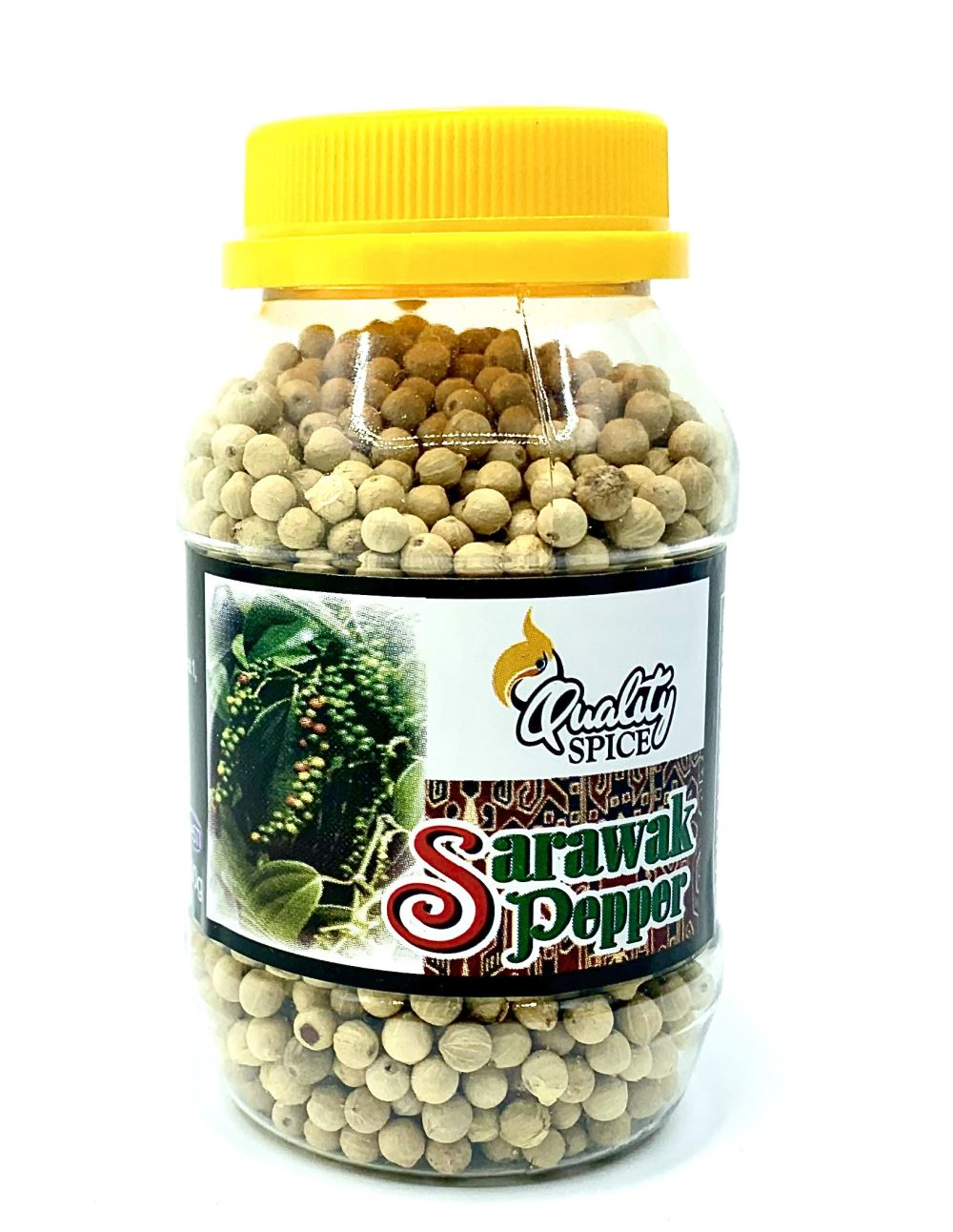 Sarawak White Pepper Berries 100G Premium Bottle