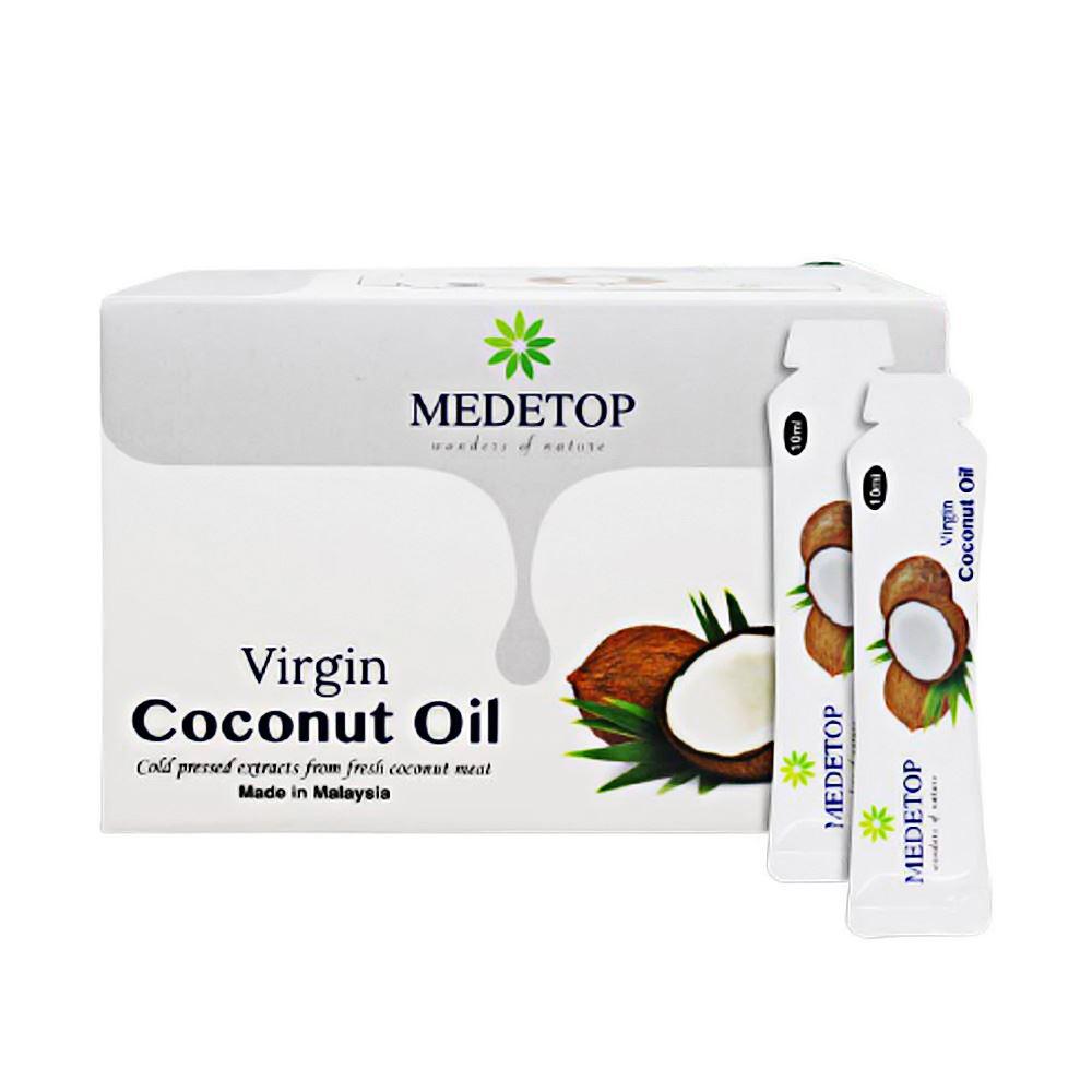 Medetop Virgin Coconut Oil Sachet (30's x 10ml)