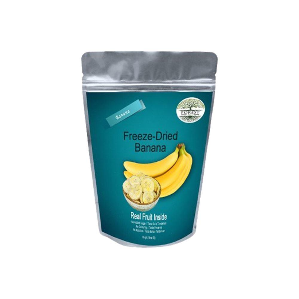 Freeze Dried Crispy Banana