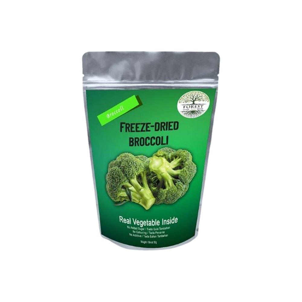 Freeze Dried Crispy Broccoli