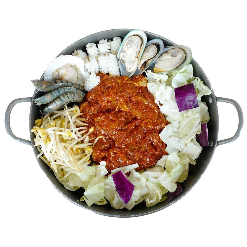 Seafood Dakgalbi Medium