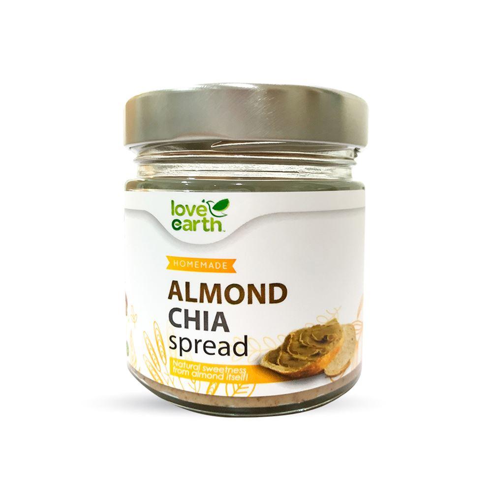 Love Earth Almond Chia Spread 175g