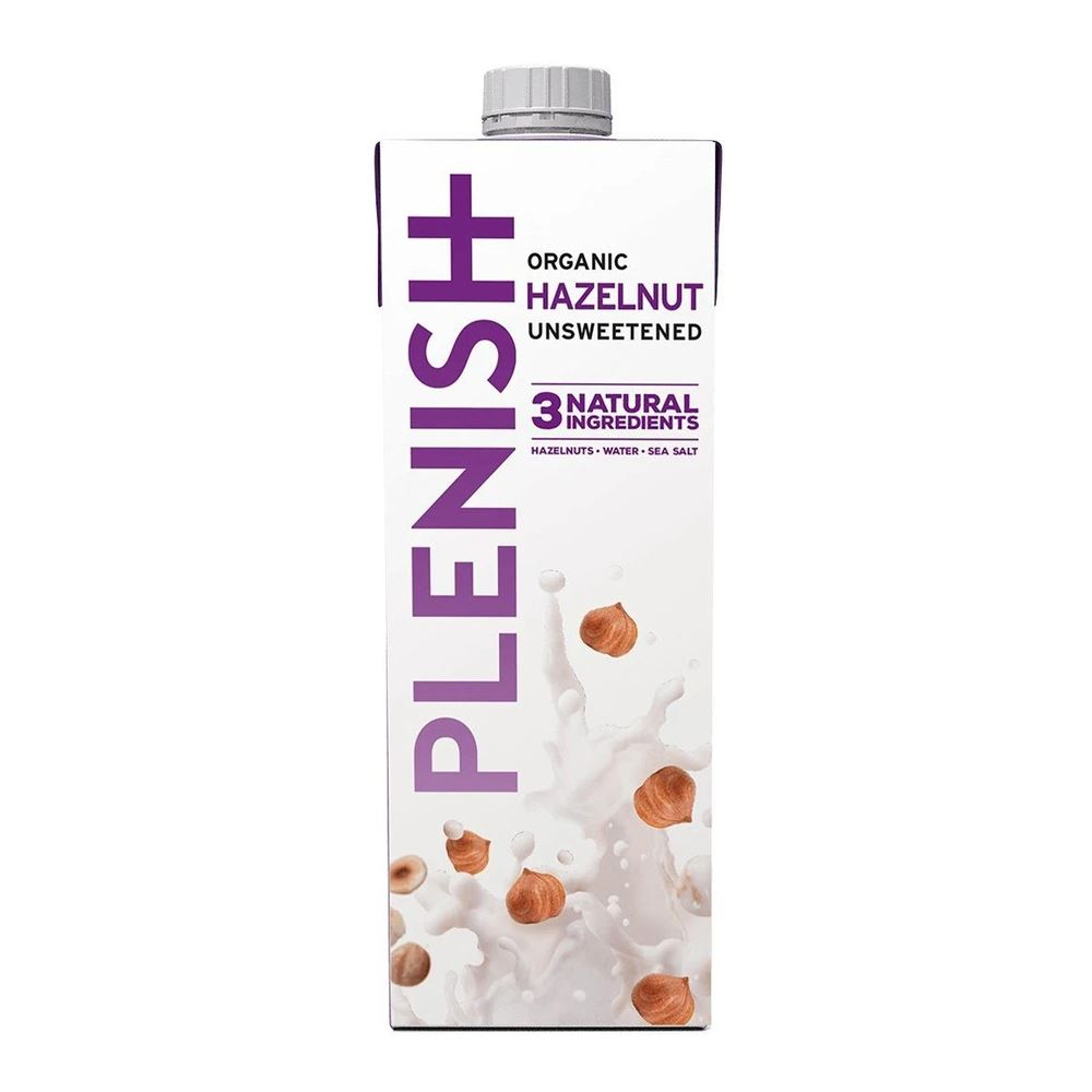 Plenish Organic Hazelnut Unsweetened 1L