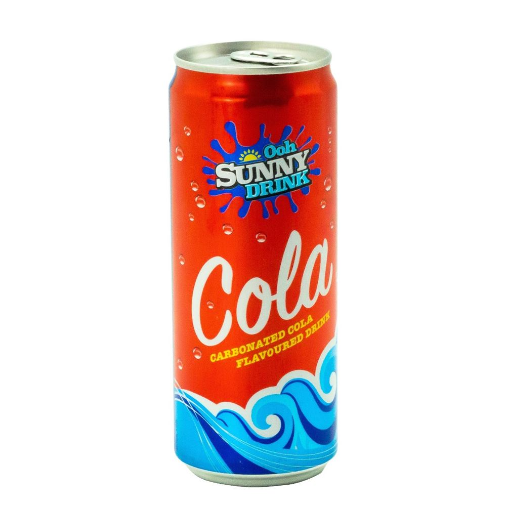 Ooh Sunny Carbonated Drinks - Cola