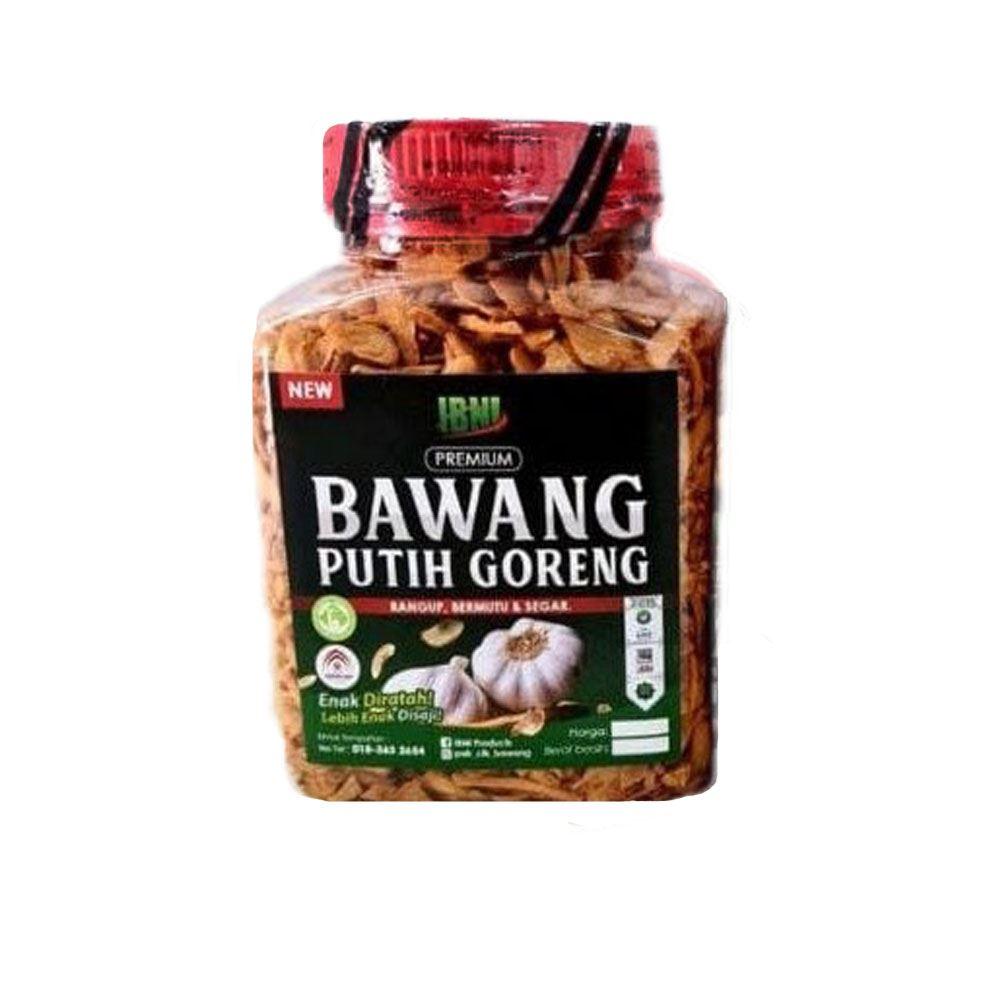 IBNI BAWANG PUTIH GORENG (fried garlic)