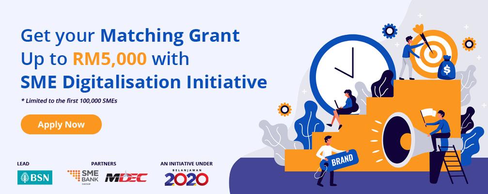 SME Digitalisation Matching Grant 2020